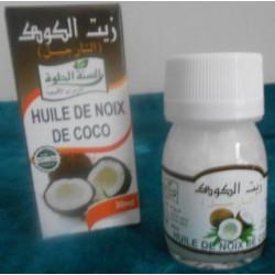 Huile de noix de coco 100 % naturelle