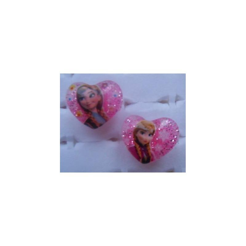 Bague rose bonbon Anna