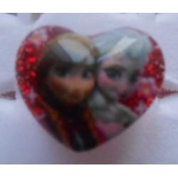 Bague rouge Elsa / Anna